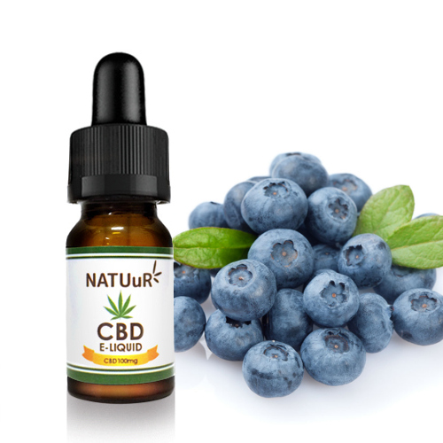 CBD E-LIQUID REGULAR Original Blueberry