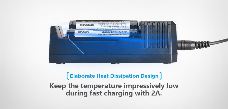 精巧な放熱設計