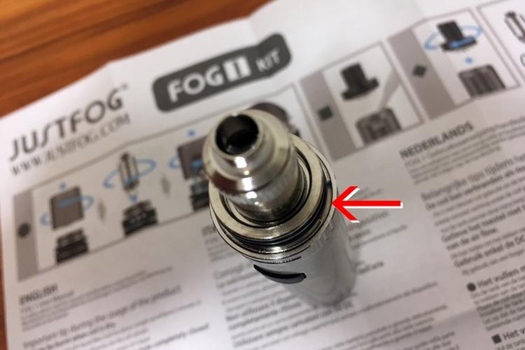 FOG1 にタンクを取り付ける