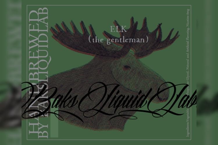 """【レビュー】BaksLiquidLab.新作 """"ELK (the gentleman)"""""""