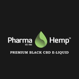 PharmaHemp PREMIUM BLACK CBD E-LIQUID の詳細(成分/含有量/濃度/種類)と吸ってみた感想