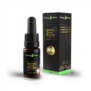 PharmaHemp CBD 5% PREMIUM BLACK