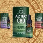 【フルスペクトラム CBD リキッド】AZTEC(アステカ)1000mg/10ml シリーズのレビュー
