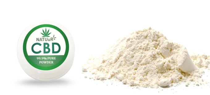 NATUuR PURE CBD POWDER