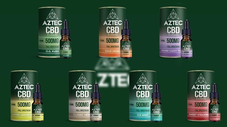 AZTEC CBD 500mg