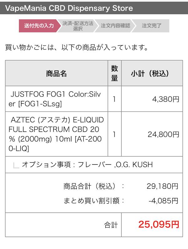 実質300円のFog1