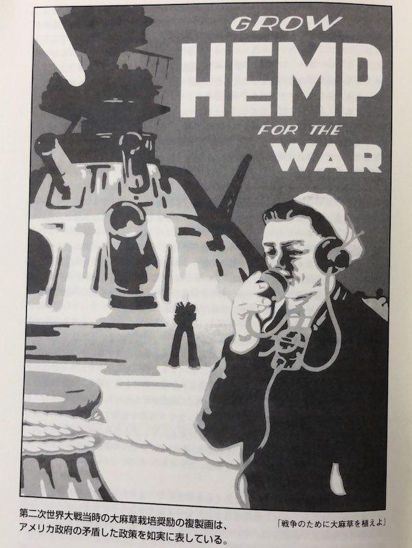 大戦中HEMP育てよう