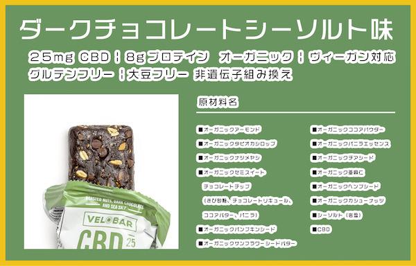 ダークチョコレート味素材