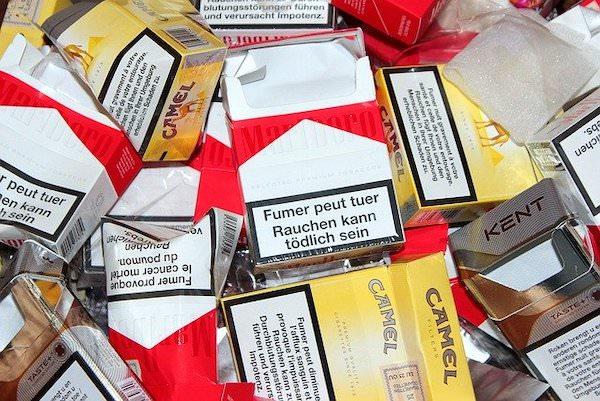 タバコの空き箱