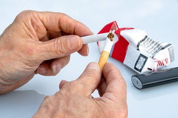 禁煙したい意思の写真
