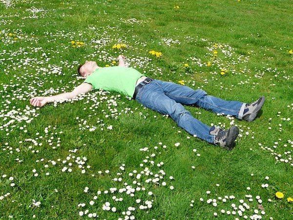オープンエア睡眠