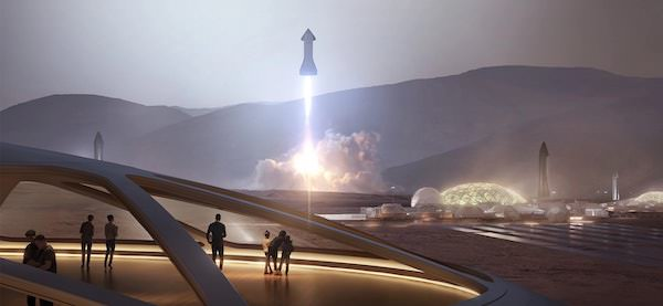 Space X on Mars