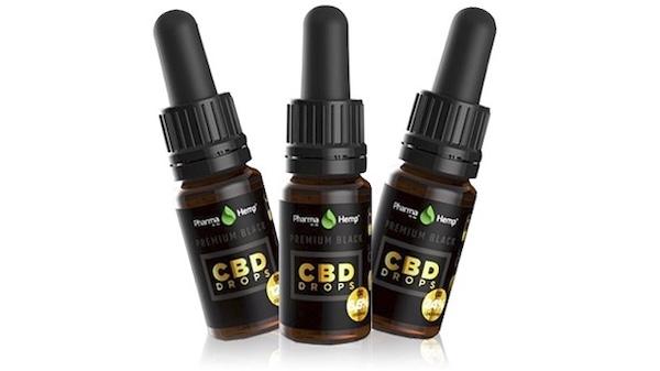 Pharma Hemp CBDオイル PremiumBlack
